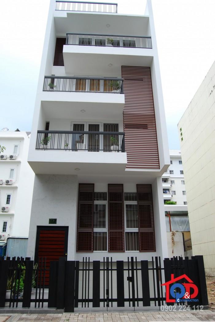 Cần bán gấp nhà  đẹp đường  Nơ Trang Long quận Bình Thạnh, nở hậu, DT 48m2