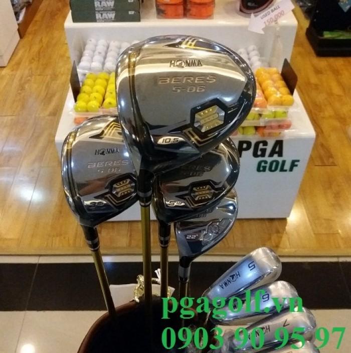 Bộ Gậy Golf Honma 3 Sao Left Hand S-06 (New Model)1