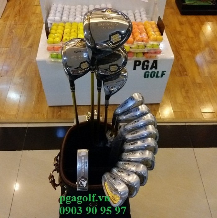 Bộ Gậy Golf Honma 3 Sao Left Hand S-06 (New Model)2
