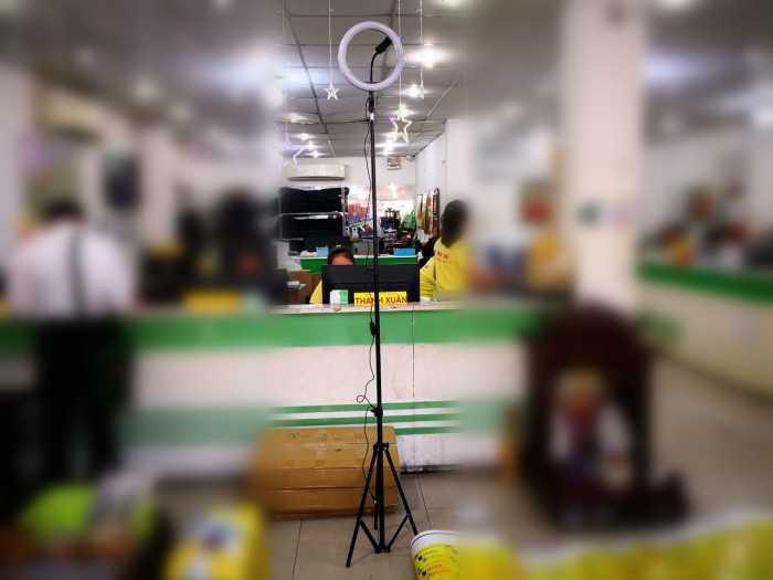 Đèn Led Hỗ Trợ Livestream, Chụp Hình Sản Phẩm, Makeup, Studio ZD666