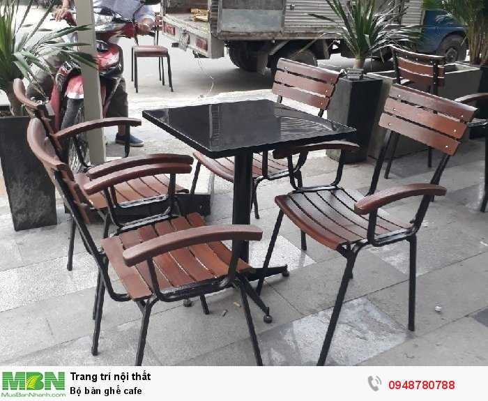 Bộ bàn ghế cafe2