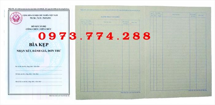 Bộ hồ sơ công chức viên chức - MuaBanNhanh
