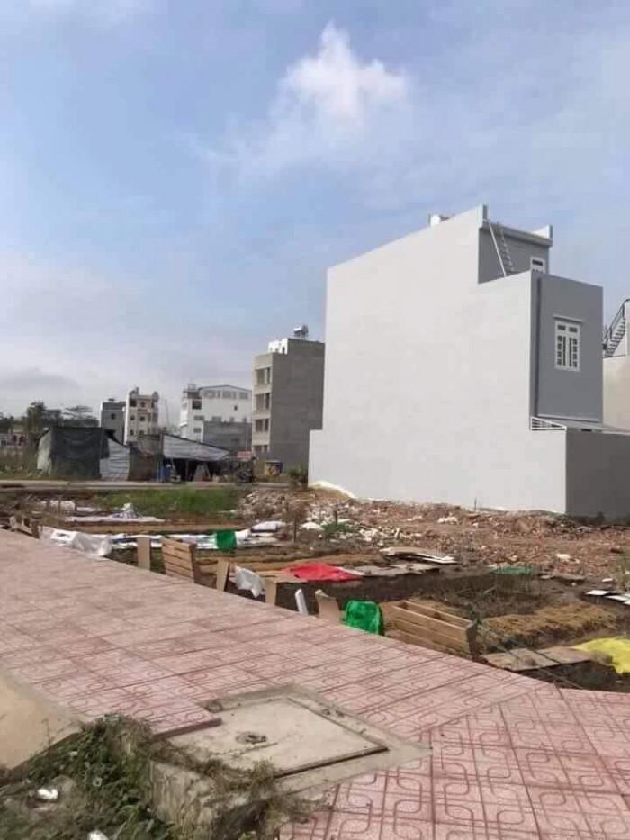 Bán nhanh lô đất thổ cư đường An Hạ, Bình Chánh, diện tích 80m2, bao sang tên.
