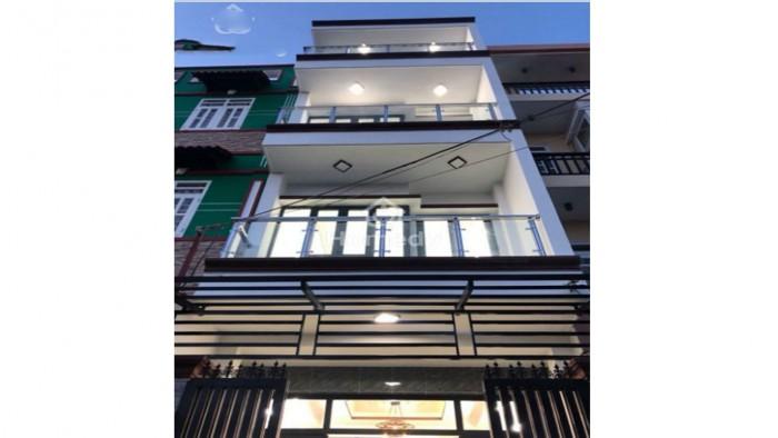 Bán nhà mặt tiền hẻm 2155 Huỳnh Tấn Phát, Thị Trấn Nhà Bè, 4.5x20m, 3 tầng, 4 phòng ngủ