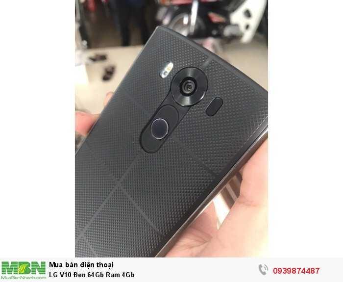 LG V10 Đen 64Gb Ram 4Gb3