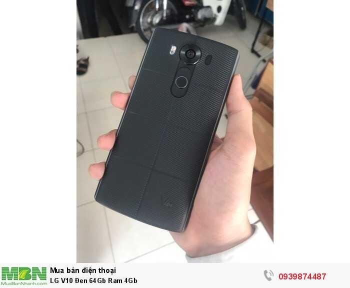 LG V10 Đen 64Gb Ram 4Gb4