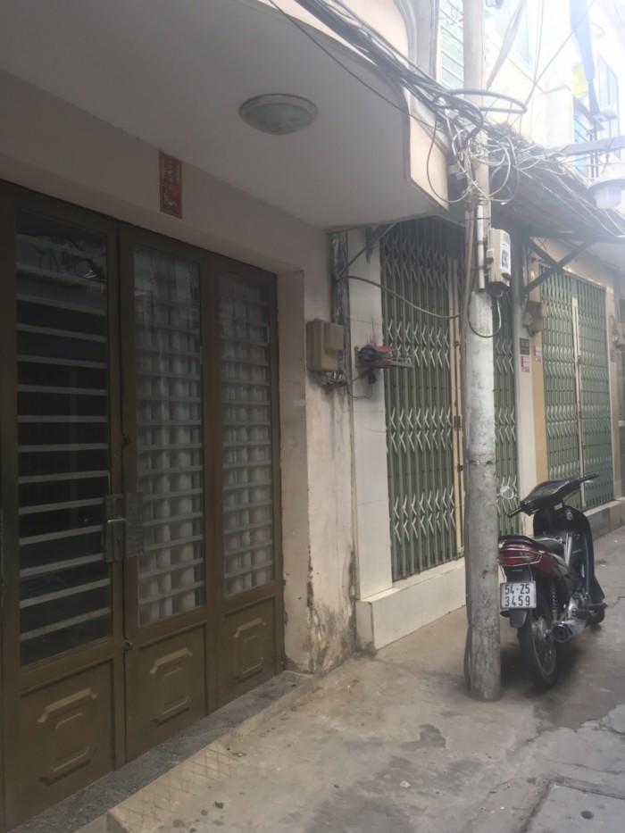 Bán nhà hẻm 30 Lâm Văn Bền, phường Tân Kiểng, quận 7.