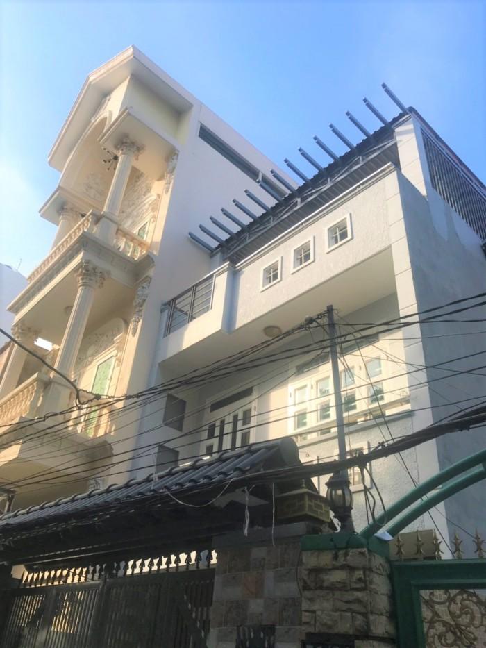 Bán nhà hẻm 51 Trần Xuân Soạn, phường Tân Thuận Tây, quận 7.
