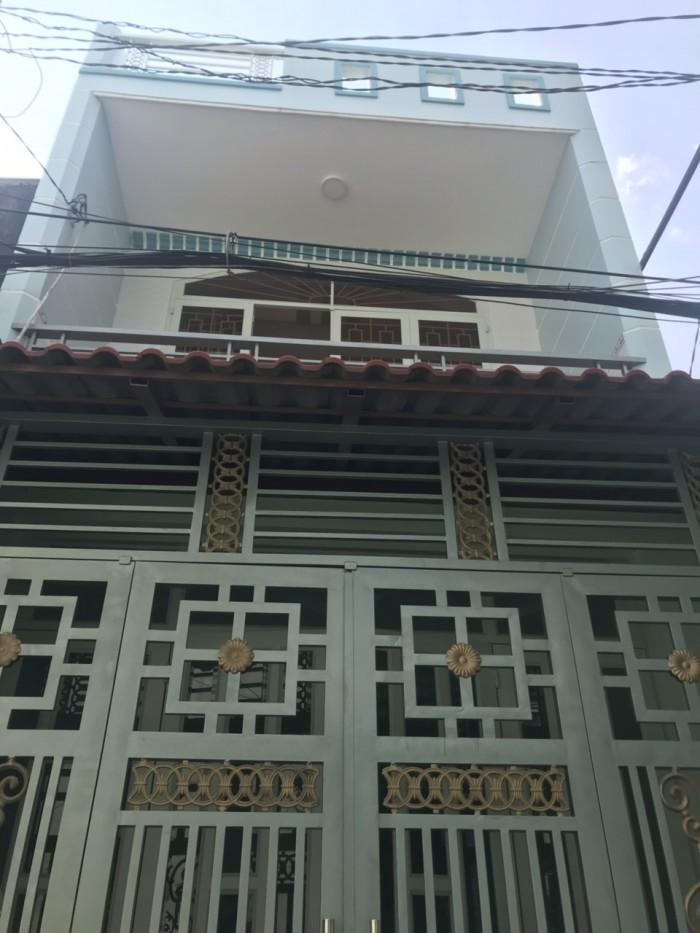 Cần Bán Nhà Hẻm Thông Đường Liên Khu 10-11 . Quận Bình Tân