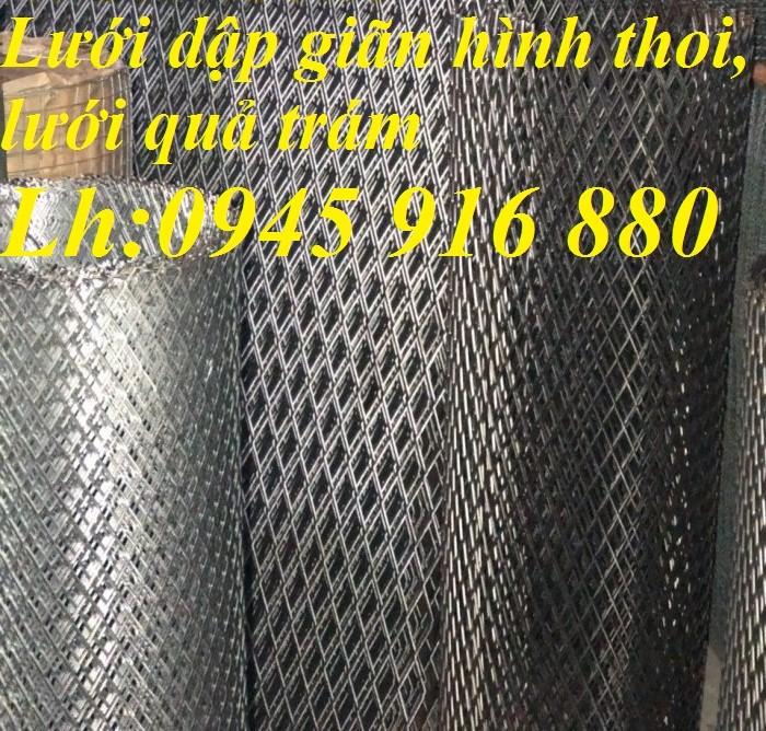 Lưới mắt cáo hình thoi, lướidập giãn hình thoi 1ly, 2ly, 3ly mắt lưới 10x20, 15x30, 20x40, 30x60, 45x90mm9