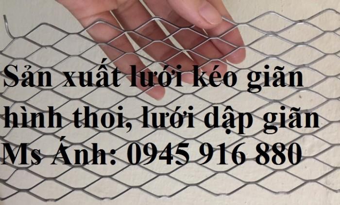 Lưới mắt cáo hình thoi, lướidập giãn hình thoi 1ly, 2ly, 3ly mắt lưới 10x20, 15x30, 20x40, 30x60, 45x90mm2