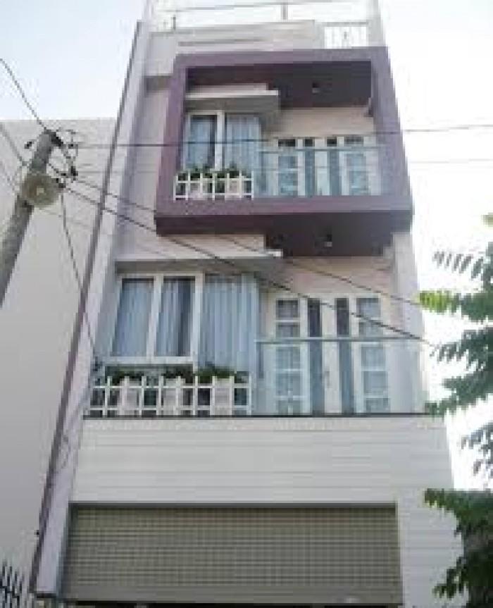 Gấp nhà 2 lầu xây mới giá 1tỷ93 DTSD 120m2 Bình Tân