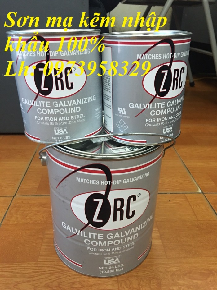 Sơn lạnh mạ kẽm dạng thùng ZG151 dạng 4 lít - 18 lít2