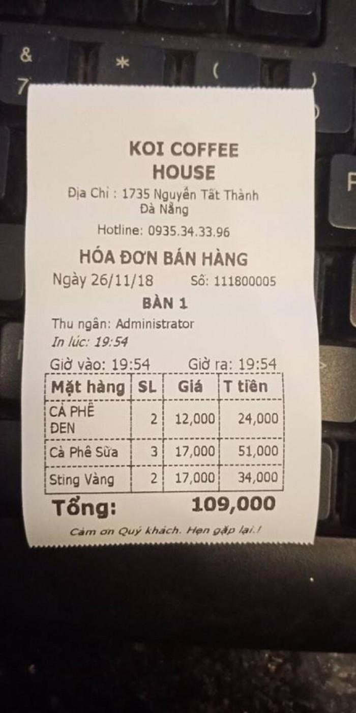 Liên hệ lắp đặt máy tính tiền cảm ứng cho Quán Trà Sữa tại Bắc Ninh0