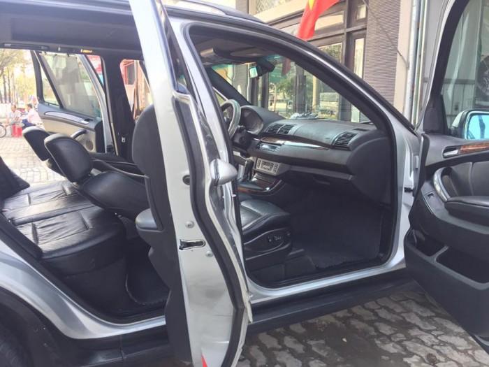Gia đình cần bán xe BMW X5, sx2007, nhập mỹ, màu bạc zin cọp