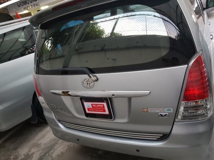 Bán xe Innova V sx 2009 màu bạc, giá giảm đặc biệt