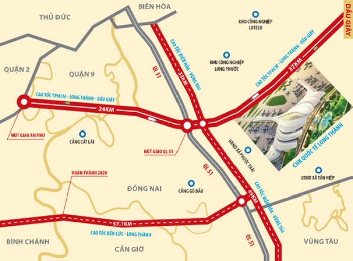 Cần mua đất ở Long Thành, Đồng Nai diện tích lớn, giá hợp lý cọc ngay.