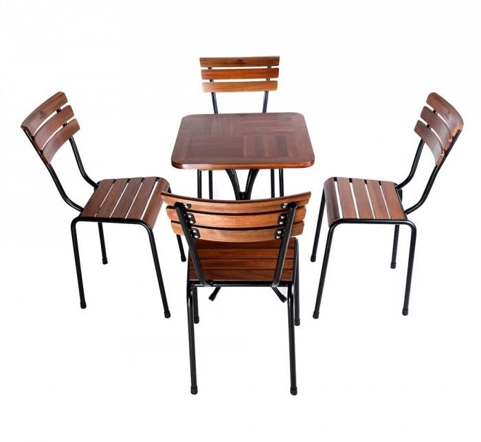 Bàn ghế cafe jasibanh giá rẻ tại xưởng sản xuất HGH 00200