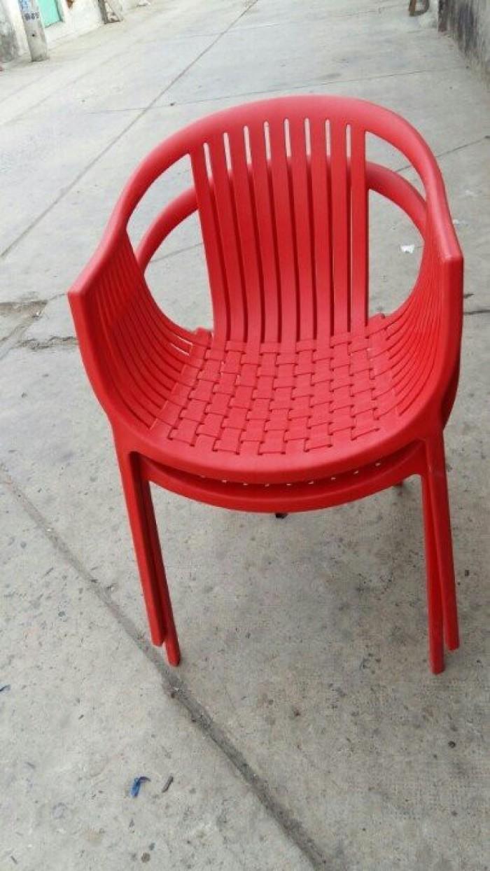 Bàn ghế nhựa cafe giá rẻ tại xưởng sản xuất HGH 00300