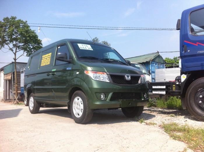 Xe tải Van Kenbo 950kg xe được nhập khẩu 100%. Xe trang bị đầy đủ các trang thiết bị Camera lùi
