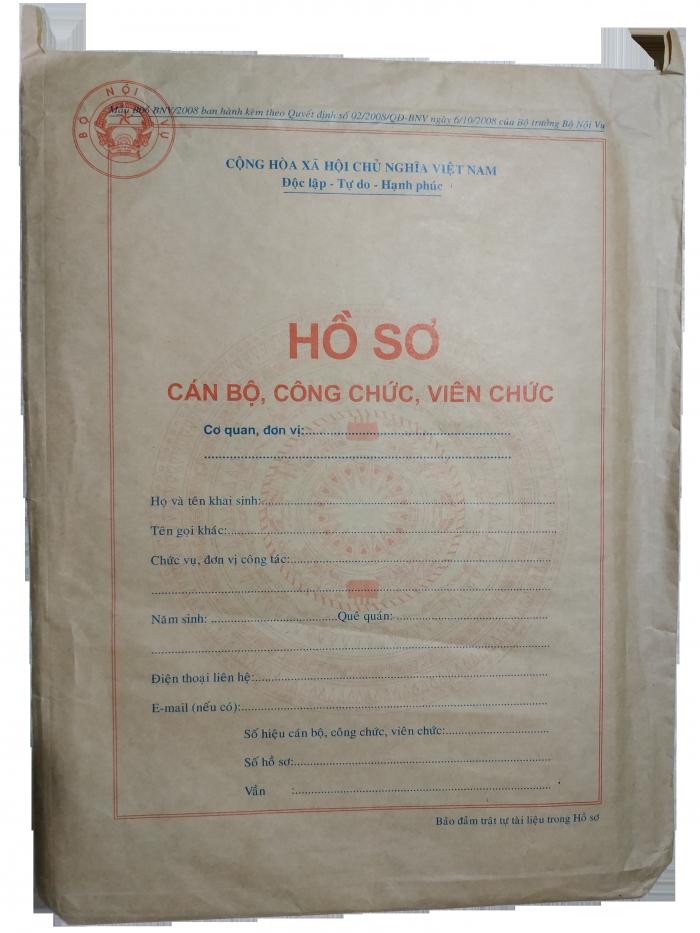 Bán vỏ hồ sơ cán bộ công chức viên chức9
