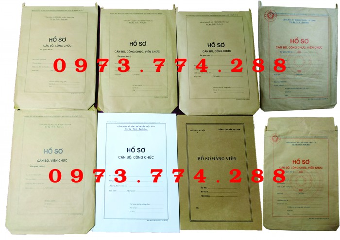 Bán vỏ hồ sơ cán bộ công chức viên chức8