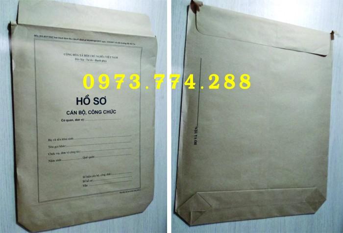 Bán bìa hồ sơ cán bộ công chức20