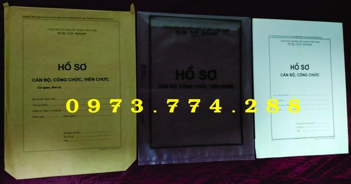 Bán bìa hồ sơ cán bộ công chức17
