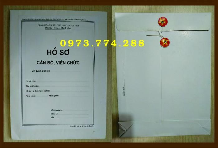 Bán bìa hồ sơ cán bộ công chức14