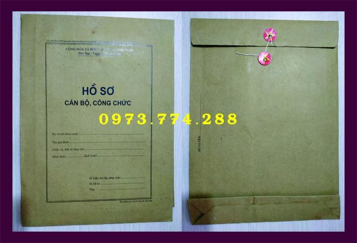 Bán bìa hồ sơ cán bộ công chức8