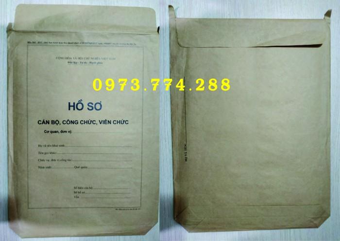 Bán bìa hồ sơ cán bộ công chức6