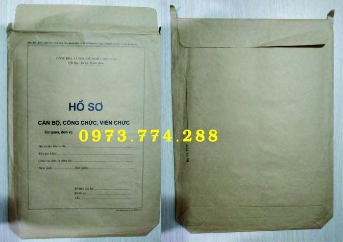 Bán bìa hồ sơ cán bộ công chức5