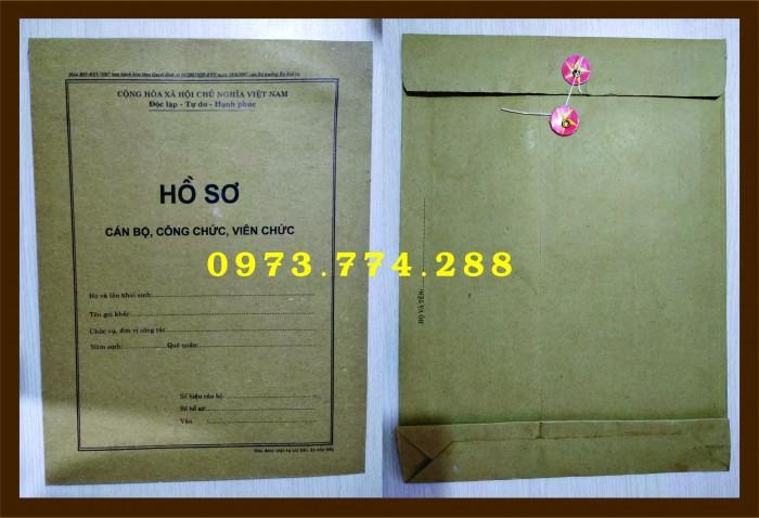 Bán bìa hồ sơ cán bộ công chức4