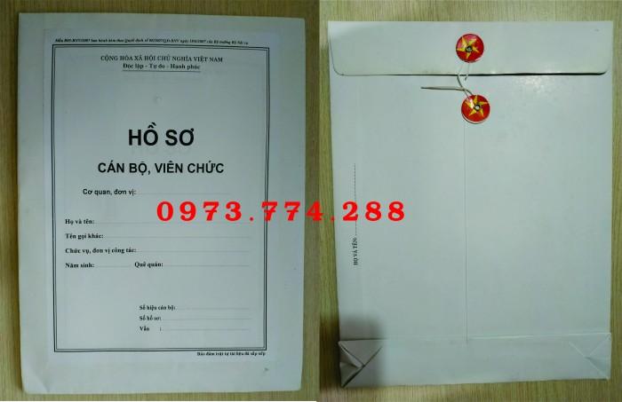 Bán bìa hồ sơ cán bộ công chức3