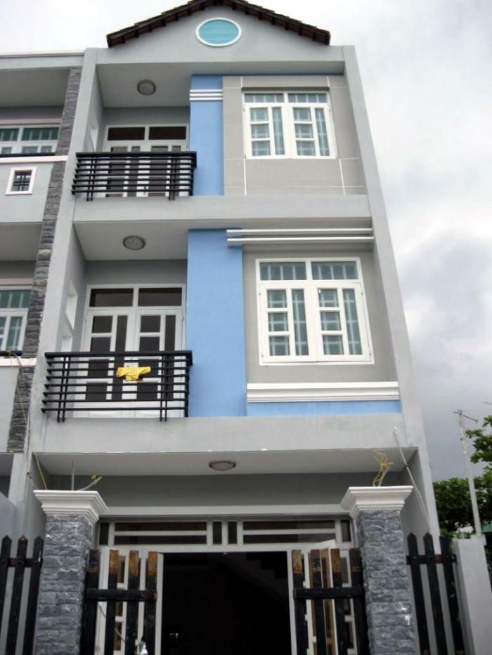 Bán nhà hẻm đường Huỳnh Văn bánh 50m2, 3 tầng, 6 tỷ, Quận 3.