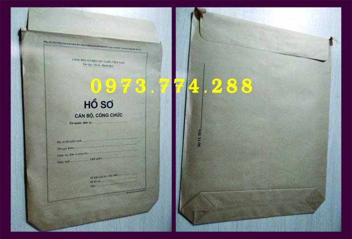 Túi hồ sơ Cán Bộ, Viên Chức các loại ......11