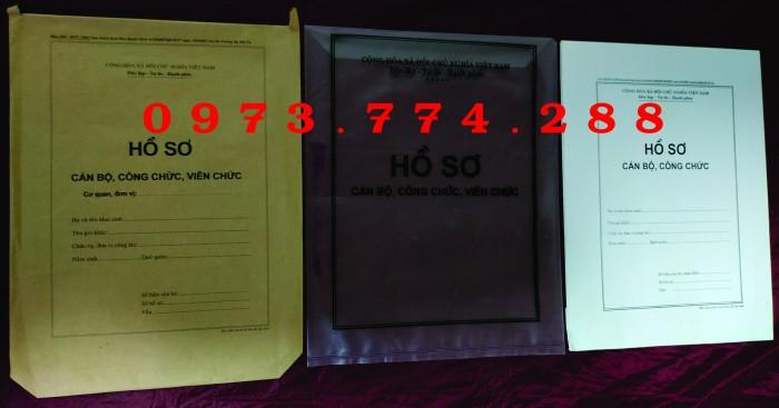 Túi hồ sơ Cán Bộ, Viên Chức các loại ......4