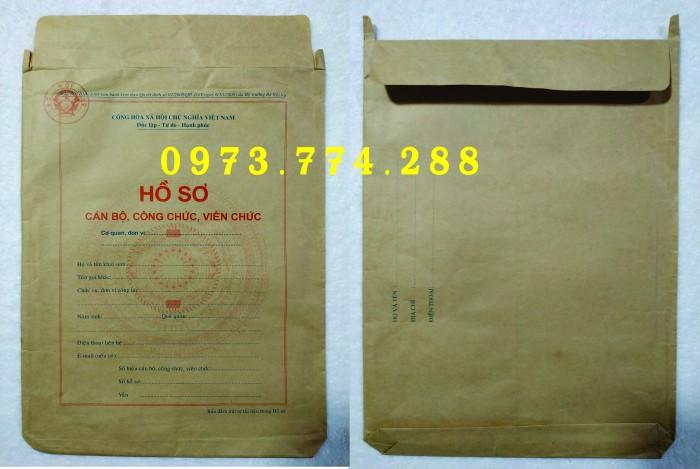 Túi hồ sơ Cán Bộ, Viên Chức các loại ......0