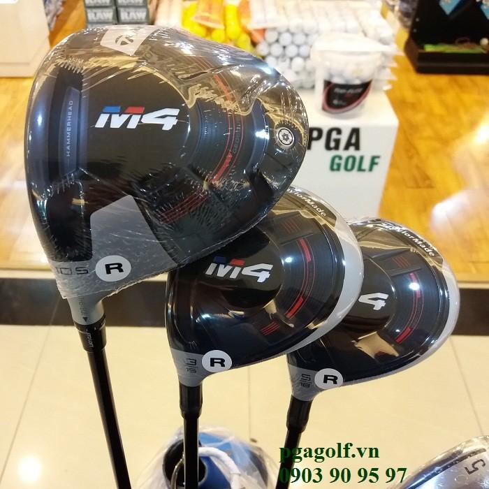 Bộ gậy golf Taylormade M4 lefthand chính hãng6