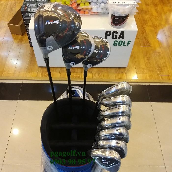 Bộ gậy golf Taylormade M4 lefthand chính hãng1