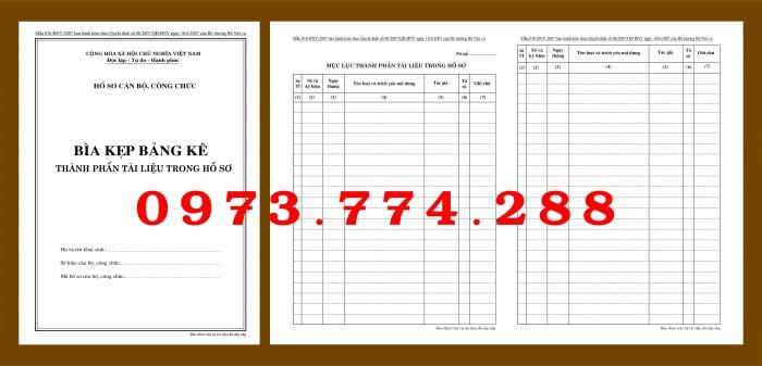 Bìa hồ sơ cán bộ viên chức14