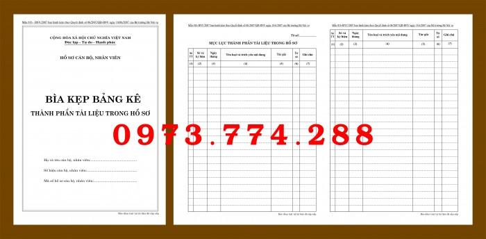 Bìa hồ sơ cán bộ viên chức8