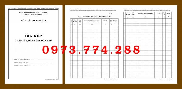 Bìa hồ sơ cán bộ viên chức6