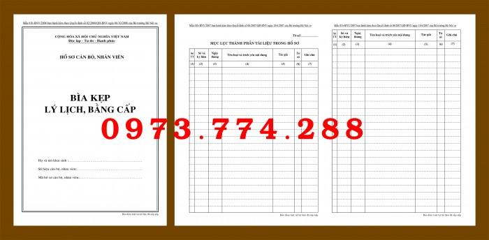 Bìa hồ sơ cán bộ viên chức5
