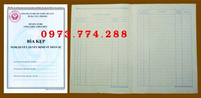 Bìa hồ sơ cán bộ viên chức1
