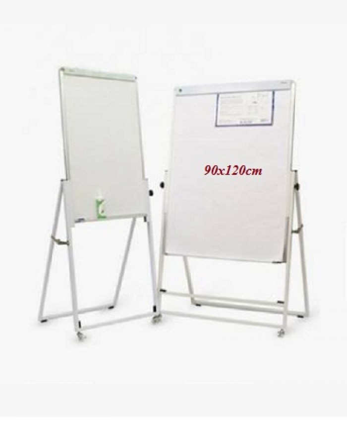 BẢNG FLIPCHART UP SIDE DOWN KÍCH THƯỚC: 90x120CM Kích thước mặt Bảng: 90x120cm Chân giá: Chân gấp, có bánh xe, có thể di chuyển dễ dàng.2