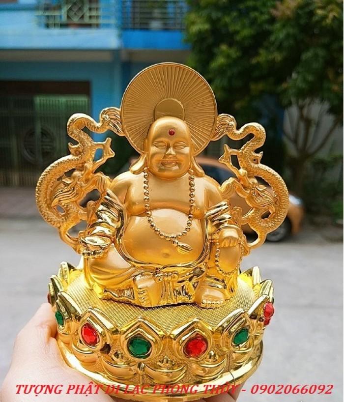 Tượng Đức Phật Di Lặc Nước Hoa Phong Thủy Tài Lộc Ô Tô4