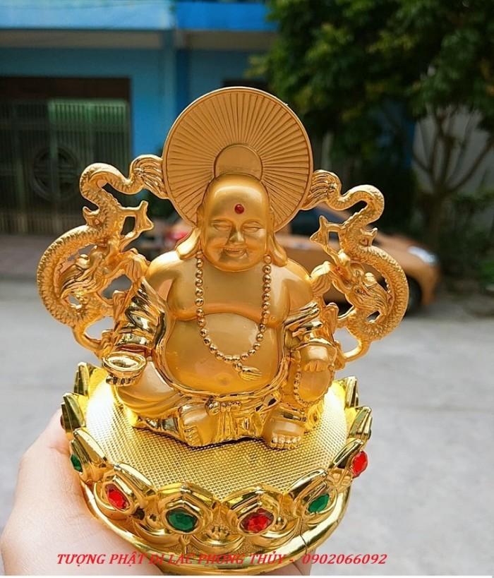 Tượng Đức Phật Di Lặc Nước Hoa Phong Thủy Tài Lộc Ô Tô3