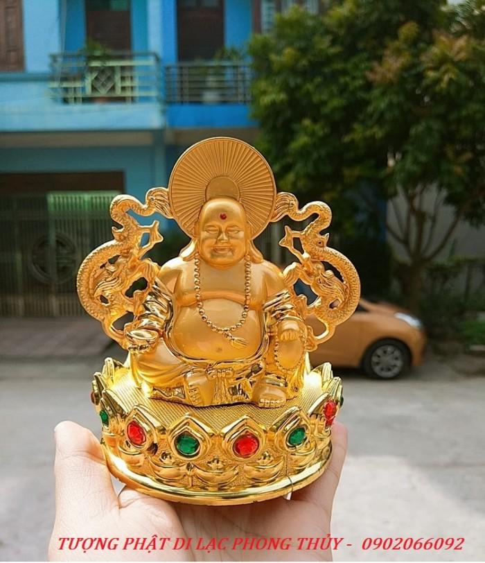 Tượng Đức Phật Di Lặc Nước Hoa Phong Thủy Tài Lộc Ô Tô2