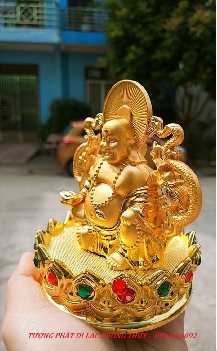 Tượng Đức Phật Di Lặc Nước Hoa Phong Thủy Tài Lộc Ô Tô1
